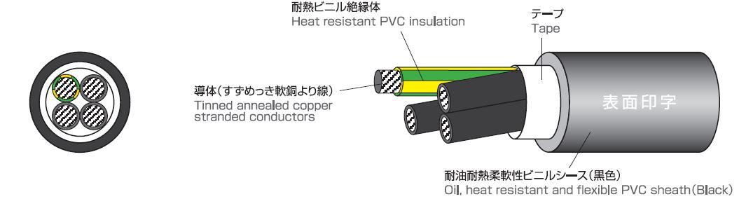 構造図 Construction figur